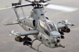 Cobra AH- 1 Attack Helicopter-min